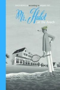Review of David Merveille's Mr. Hulot at the Beach  by Sarah Ellis, July/August 2016 Horn Book Magazine