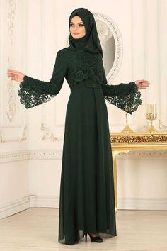 Evening Dress - Green Evening Dress 25670Y