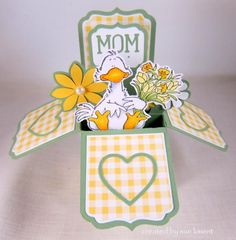 Penny Black Duckling by Susiespotless - Cards and Paper Crafts at Splitcoaststampers