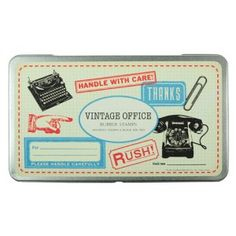 vintage style rubber stamps £19