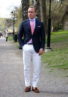 ジャケット×ホワイトパンツのコーディネート集(メンズ)   Italy Web
