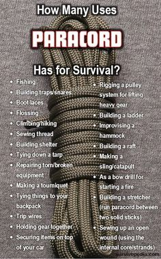 Ropes And Knots: Basics for Survival and Everyday Use.  Discover more by checking out the photo #SurvivalistHacks