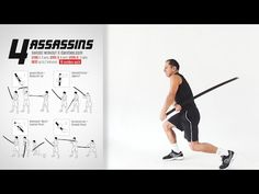 Katana Week: 4 Assassins Workout - YouTube