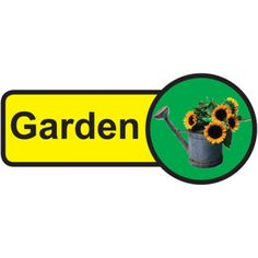 Garden Dementia Sign Information Sign - All Diseases Dementia Care Homes, Signs Of Dementia, Plastic Signs, Sign Materials, Sign Design, Adhesive Vinyl, Helping People, Senior Center, Garden