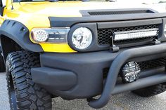FJ_Yellow_#1 — Davis Autosports Lifted Jeep Cherokee, Jeep Wrangler Lifted, Jeep Wrangler For Sale, Jeep Rubicon, Fj Cruiser Off Road, Fj Cruiser Mods, Toyota Fj Cruiser, Expedition Vehicle, Lifted Ford Trucks