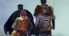 Batman Running Away From Shit Tumblr