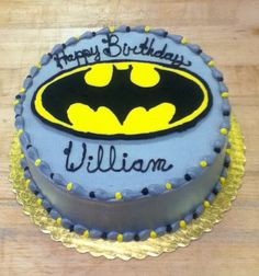 Batman Birthday Cake. Like this one for Mikes bday cake this year lol