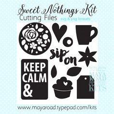 Sweet Nothings Free Digital Cutting File in SVG and PNG