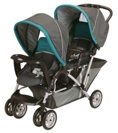 7272035960fb Graco DuoGlider Folding Double Baby Stroller w  Car Seat Travel Set -  Dragonfly Double Stroller