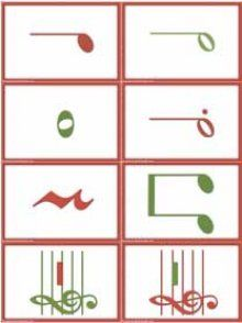 Cards for Snowmen and Reindeer Rhythm Game by Susan Paradis (there are versions for absolute pitch & intervals, too)