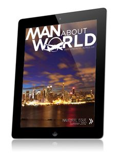 Man About World is a digital magazine brought to life by the iPad. This interactive app features the best in travel news & reviews!
