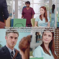 """#RedBandSociety 1x3 """"Liar, Liar, Pants On Fire"""" - Dr. McAndrew and Nurse Brittany"""
