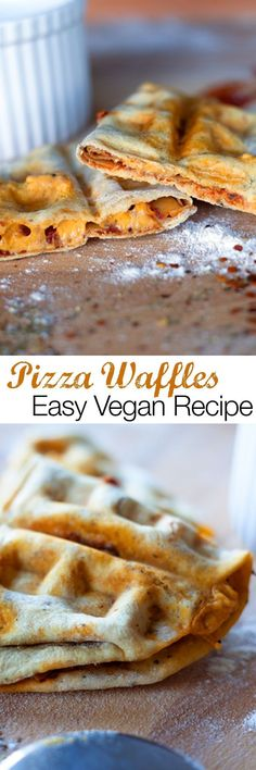 Vegan Recipe Waffle Pizza You don't need a pizza stone or even an oven to make these super simple vegan waffle pizza pockets. Make delicious homemade pizza using on a waffle iron.