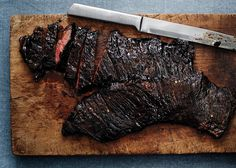 Spicy Tamarind Skirt Steak - Bon Appétit NOTE** -- What to do with that Tamarind Concentrate in the fridge.