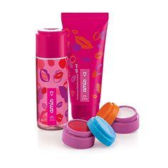 Presentes Natura para Crianças Presente Natura Amis - Desodorante Colônia + Balm Labial + Glitter Iluminador + Desodorante Hidratante