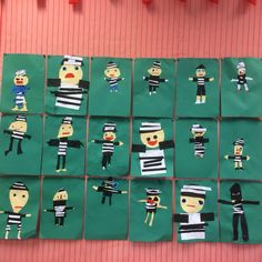 Cut and paste crook – Knippen Welcome To Class, Cops And Robbers, Community Helpers, Preschool Lessons, Cut And Paste, In Kindergarten, Presents, Ambulance, Holiday Decor