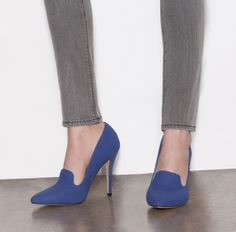 Love the color - not sure about the height of the heel