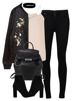 """""""OOTD"""" by maddie1128 ❤ liked on Polyvore featuring Citizens of Humanity, SELECTED, Zara, Alexander Wang, Urban Renewal and ootd"""