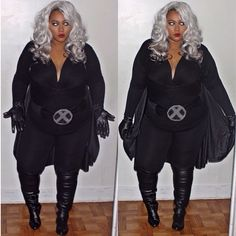 15 Plus Size Halloween Costumes that WOWED Us- Curves on the Move as Storm