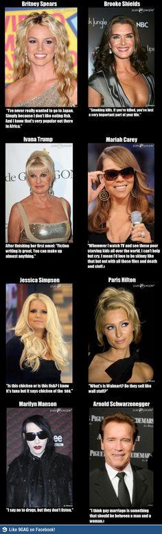 8 dumbest celebrity quotes ever said