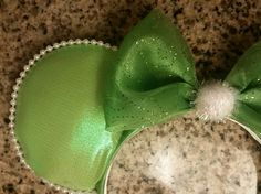 Tinkerbell inspired minnie ears!