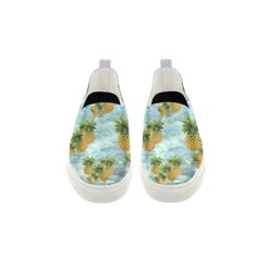 Pineapples Apus Slip-on Microfiber Women's Shoes. FREE Shipping. FREE Returns. #artsadd #sneakers #fruits