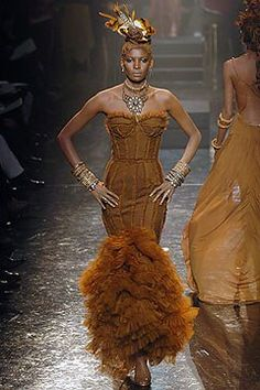 Jean Paul Gaultier - Spring 2005 Couture