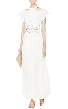 Be Alive Embroidered Eyelet Dress by Alice McCall - Moda Operandi