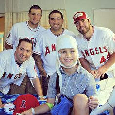 Go Angels! Thank you for visiting patients!
