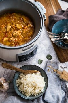 Pulled Pork, Chana Masala, Slow Cooker Recipes, Curry, Lunch, Dinner, Eat, Cooking, Healthy