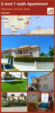 2-bed 1-bath Apartment in Villamartin, Alicante, Spain ►€65,000 #PropertyForSaleInSpain