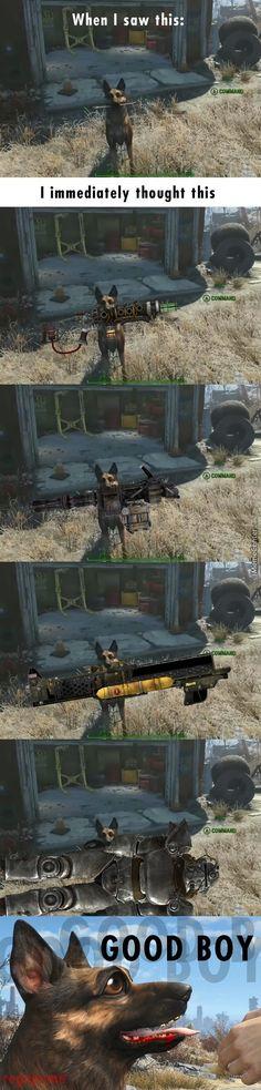 Fallout 4: Dogmeat