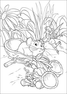 Tinker Bell And The Secret Of Wings Coloring Pages 4