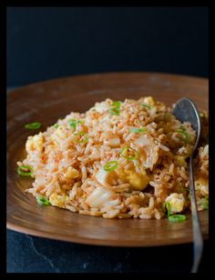 // kimchi fried rice