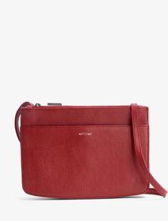 Sac Matt & Nat Gil bordeaux handbag burgundy