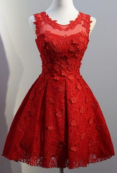 Red Homecoming Dress,Short Homecoming Dress