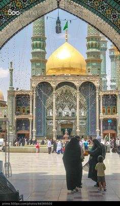 The shrine of Sayyida Fatima Al-Masouma (AS) Karbala Iraq, Hussain Karbala, Best Islamic Images, Islamic Pictures, Islamic World, Islamic Art, Imam Reza, Imam Hussain Wallpapers, Sufi Saints