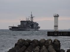 同日15時54分  外出したついでに、いつもの海上自衛隊御用達堤防から