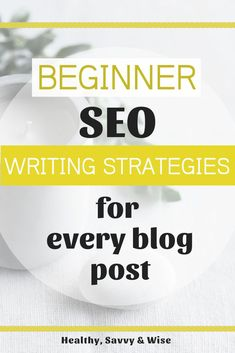 SEO can be sooo confusing! Here's an easy-to-implement writing technique that INCLUDES SEO and simplifies your blog post writing at the same time. Writing Strategies, Blog Writing, Writing Tips, Make Money Blogging, Blogging Ideas, Seo Tutorial, Seo Tips, Seo Guide, Seo For Beginners