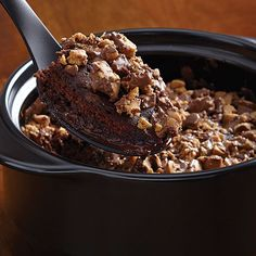 Peanut Butter Chocolate Pudding Cake - Recipes | The Pampered Chef