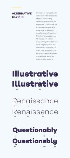 Campton 06 #fonts #design #graphicdesign