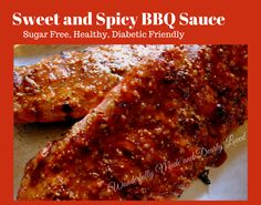 Sweet and Spicy BBQ Sauce (Sugar Free, THM, Low Carb, Low Fat, Gluten Free)