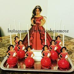 Elena of Avalor  cake pops Made by Mariascakesnmore