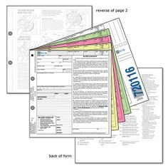 Bicycle Inventory Sales Tag - Type CC - Without Shop Name   The Double C is a full size 5-ply carbonless form, including assembly checklist, a buyers checklist and Quick Release Hubs instructions.