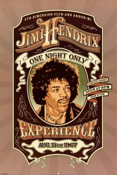 Jimi Hendrix Experience Aug