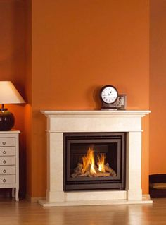 Gas Fireplace Inserts on Pinterest | Vented Gas Fireplace ...