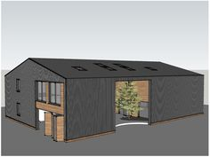 Shaw and Jagger Architects based in Harrogate, North Yorkshire. Contemporary Barn, Modern Barn, Modern Farmhouse, Barn House Conversion, Barn Conversions, Steel Barns, House Cladding, Warehouse Design, Barn Renovation