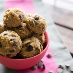 If you are a cookie dough fan, but not a fan of all the calories, sugar, and added lbs that cookie dough brings, you must try these!