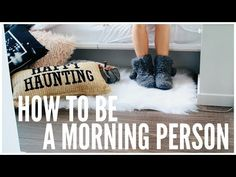 How To Wake Up Early | HOW TO ADULT 101 - YouTube
