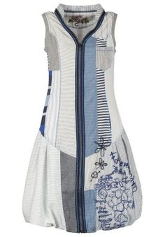 VEST ENSEI - Sukienka letnia - niebieski